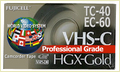 Compact Vhs-C Camcorder Tapes Ec-45