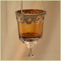 Glass T-Light Hanging