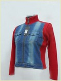 Ladies Short Denim Jacket