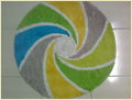 Round Cotton Bathmat
