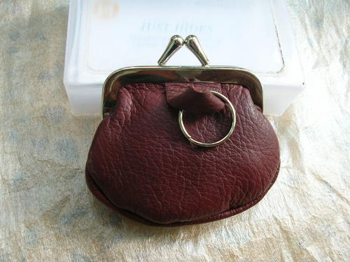 Cosmetic Leather Pouch