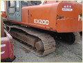 Used Crawler Excavator Hitachi Ex200