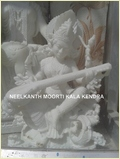 Beautiful Marble Saraswati Murti