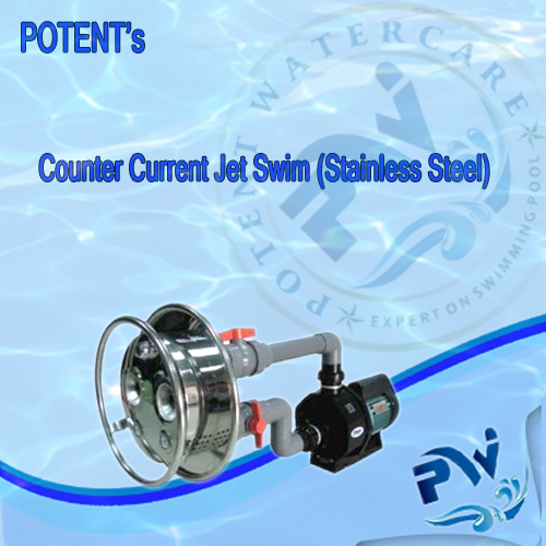 Swimming Pool Counter Current Jet Swim