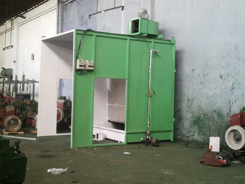 Highly Efficient Side Draft Water Wash Booths