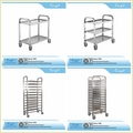 Bakery Cooling Trolley Cart Food Service