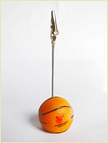 Basketball Shaped Memo Clip