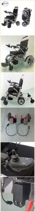 Floding Portable Power Wheelchair