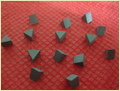 Triangle Shaped Polycrystalline Diamond