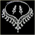 Stylish Silver Jewelry Set