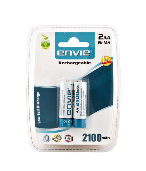 Envie AA 2100 Rechargeable Battery