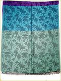 Jacquard Leaf Design Scarves