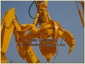 Excavator Hydraulic Orange Peel Grab