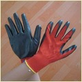 13g Nylon Shell Nitrile Coated Safety Glove
