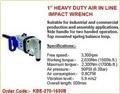 Air Inline Impact Wrench