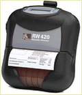 Zebra Rw 420 (R4d-0uba000n-00) Portable Barcode Printer