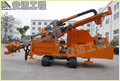 Mdl-160e1 Multi-Functional Drilling Rig With Crawler