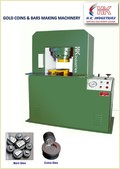 Coining Press Machine For Gold