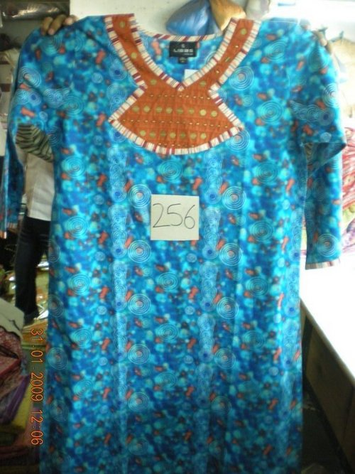 100% Cotton Printed Kaftan