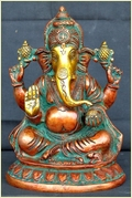 Lord Ganesha Brass Religious Statue