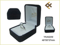 Durable Black Velvet Ring Box