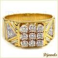 Designer Gold Ring For Gents