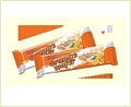 Wafer Yolli With Cream Orange And Milk Coating  25g