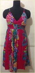 Colored Printed Ladies Dresses
