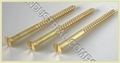 Brass Wood Screws