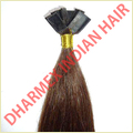 Flat Tipped Human Hair Extension