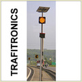 Solar Traffic Signal Blinker (Yellow/Amber)