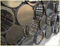 Round Steel Wire Filter Bag Cages