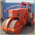 Static Diesel Road Roller With Power Steering