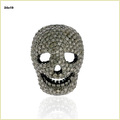 5.75 CT Human Skull Bead Spacer Finding Jewelry