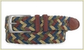 Cotton Braided Belt - Light