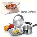 Steel Bartan Set