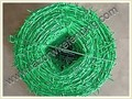 Pvc,Pe Coated Barbed Wire