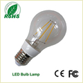 New LED E27 A60 Glass Filament Bulb