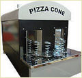 Pizza Cone Gas Oven 24 Cone Capacity