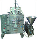 Automatic Form Fill Seal Machine Collar Type With Liquid Packing