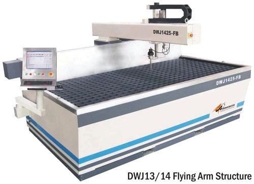 Job Shop Water Jet Cutting Machine