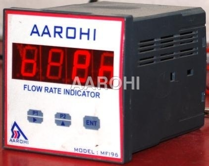 Digital Flow Rate Indicator