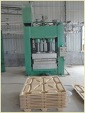 Compressed Wood Pallet Making Machine