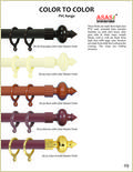 Color To Color Pvc Curtain Rods