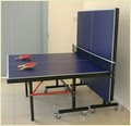 Table Tennis Table AS-203 Square Leg 3'' Wheels