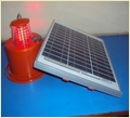 Solar Power & Led Base Obstruction Warning Light