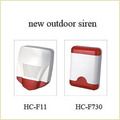New Outdoor Siren With Strobe