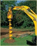 Trench Digger Used For Steer Loader