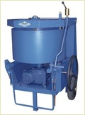 40l Pan Type Concrete Mixture