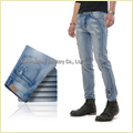 Destroy Wash Denim Jeans